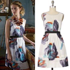 Anthropologie Sz 8 Morning Colors Dress EUC